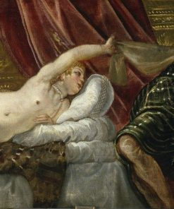 Joseph and Potiphar's Wife | Tintoretto | Oil Painting