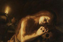 Penitent Magdalene | Trophime Bigot | Oil Painting