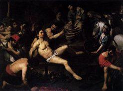 Martyrdom of Saint Lawrence | Valentin de Boulogne | Oil Painting
