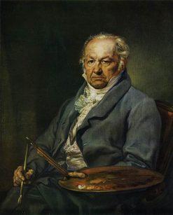 Portrait of Francisco de Goya | Vicente Lopez y Portaña | Oil Painting