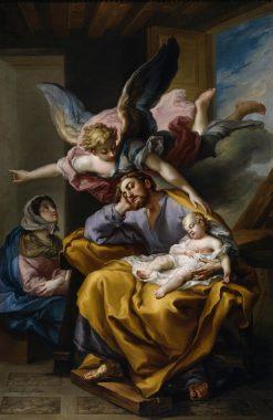 Joseph's Dream   Vicente Lopez y Portaña   Oil Painting