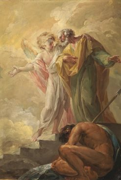The Liberation of Saint Peter | Vicente Lopez y Portaña | Oil Painting