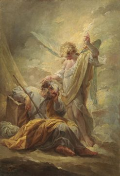 Saint Joseph's Dream   Vicente Lopez y Portaña   Oil Painting