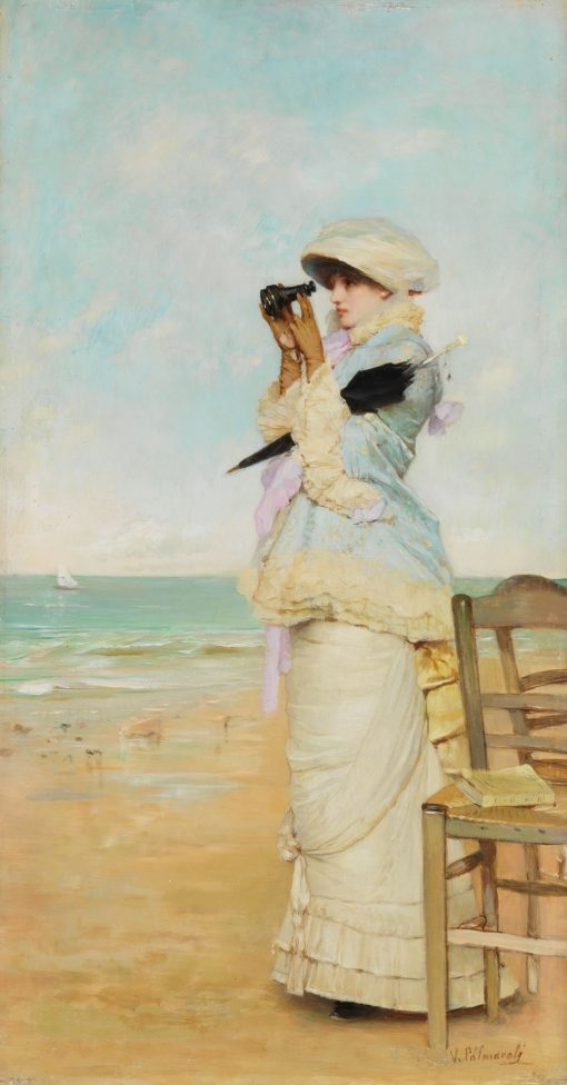 En vue | Vicente Palmaroli y Gonzalez | Oil Painting
