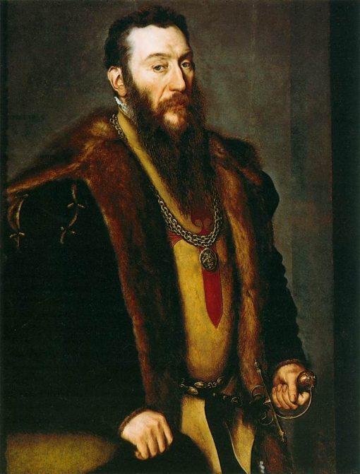 Portrait of Giovanni Battista di Castaldo | Anthonis Mor | Oil Painting