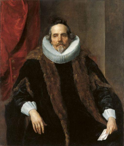 Portrait of Jacques Le Roy | Anthony van Dyck | Oil Painting