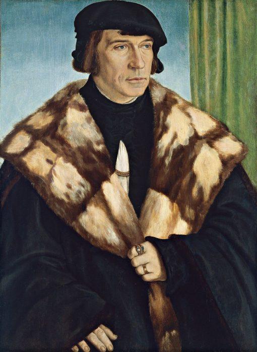 Portrait of Ruprecht Stupf | Barthel Beham | Oil Painting