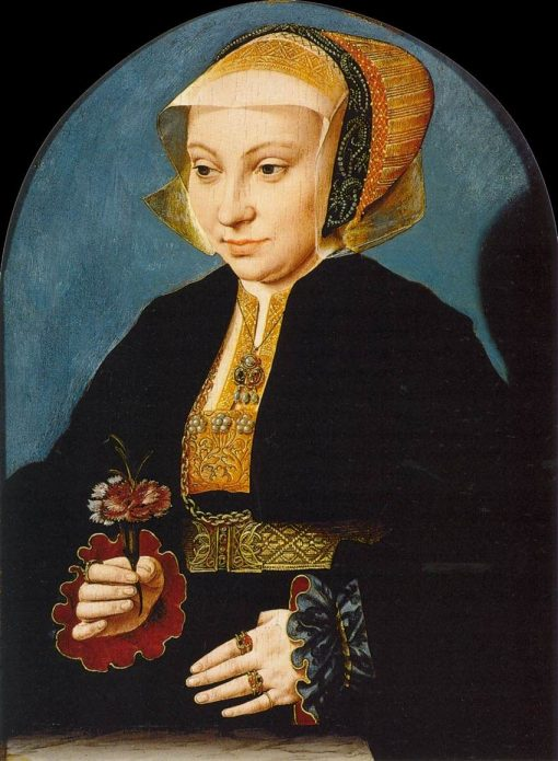 Portrait of a Woman | Bartholomaeus Bruyn the Elder | Oil Painting