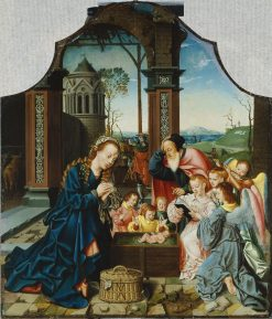 The Nativity | Bartholomaeus Bruyn the Elder | Oil Painting