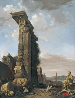 Capriccio with Roman Ruins