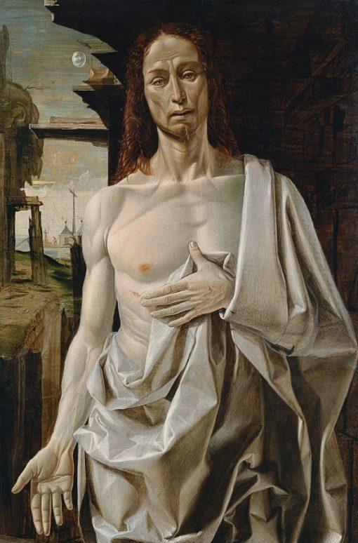 The Risen Christ | Bramantino | Oil Painting