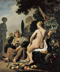 Vertumnus and Pomona | Caesar van Everdingen | Oil Painting