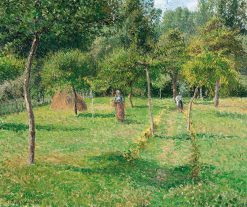 The Orchard at Eragny | Camille Pissarro | Oil Painting