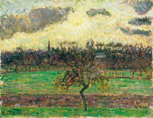 The Meadows at Eragny: Apple Tree | Camille Pissarro | Oil Painting