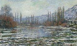 The Thaw at Vetheuil | Claude Monet | Oil Painting
