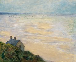 The Hut in Trouville | Claude Monet | Oil Painting