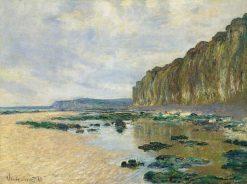 Low Tide at Varengeville | Claude Monet | Oil Painting