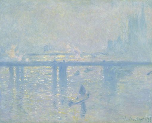 Charing Cross Bridge | Claude Monet | Oil Painting