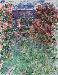 The House among the Roses | Claude Monet | Oil Painting