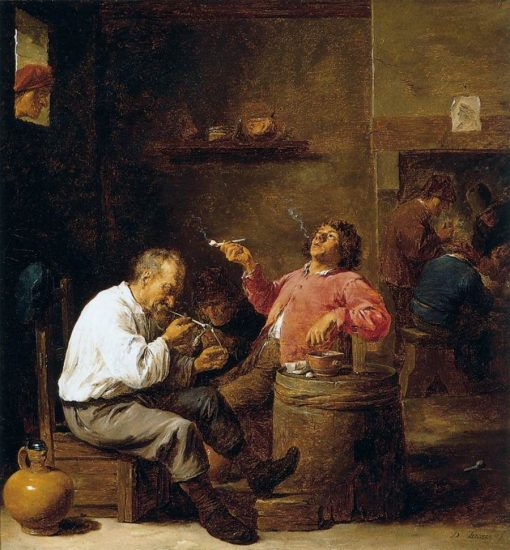 Smokers in an Interior | David Teniers II | Oil Painting