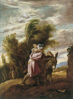 The Good Samaritan   Domenico Fetti   Oil Painting