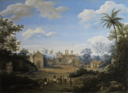The Church of St. Cosmas and St. Damian | Frans Post | Oil Painting