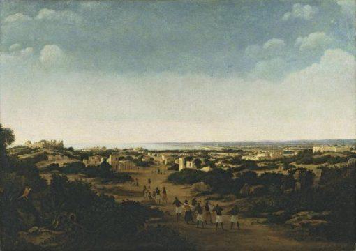 View of the Ruins of Olinda