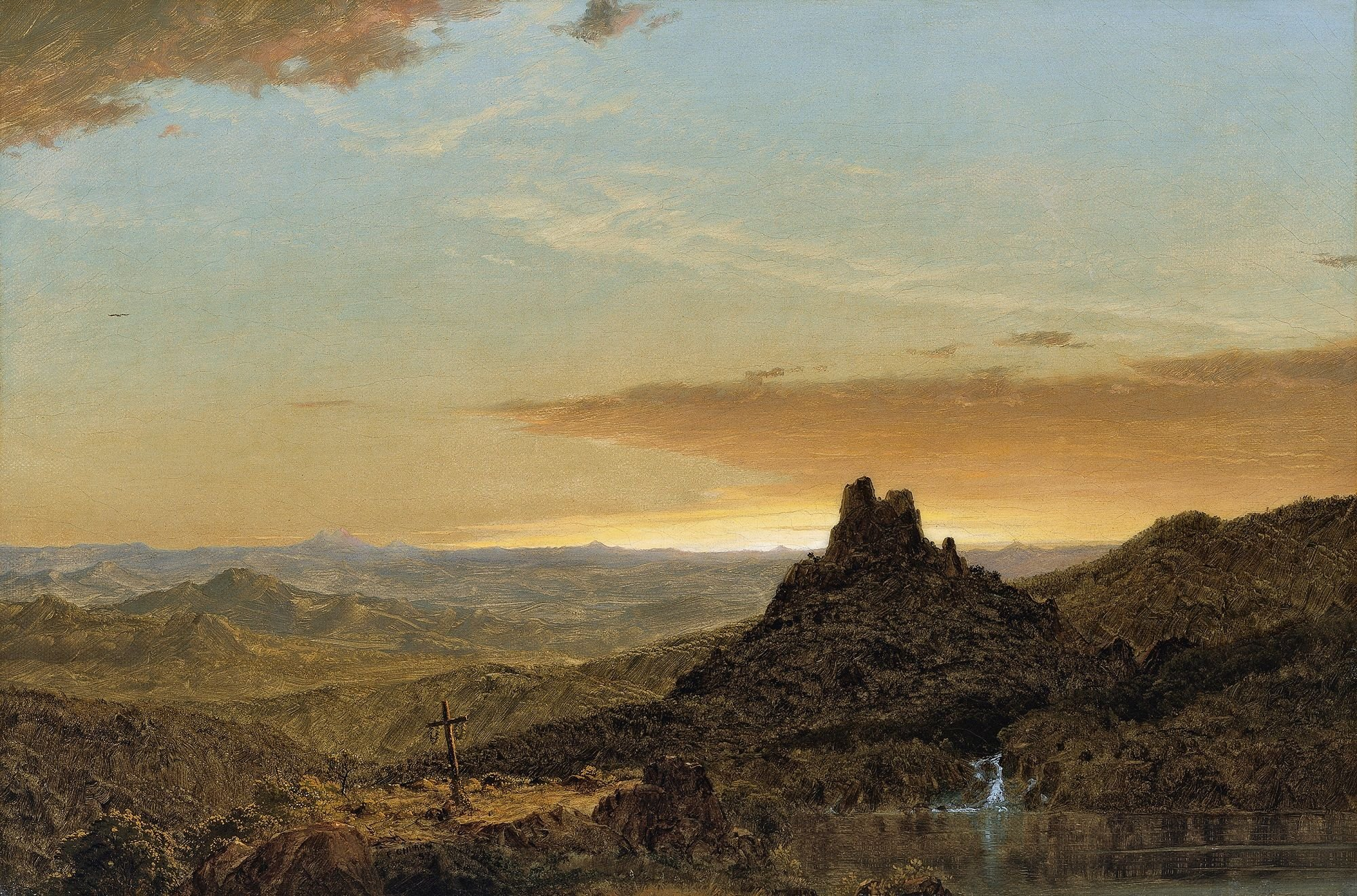Cross in the Wilderness | Frederic Edwin Church | Oil Painting