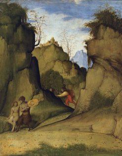Pan and Syrinix | Giiovanni Agostino da Lodi | Oil Painting