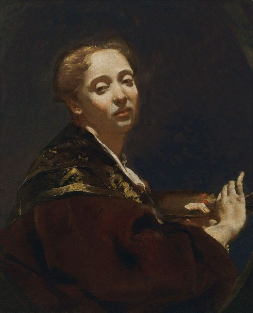 Portrait of Giuli Lama | Giovanni Battista Piazzetta | Oil Painting
