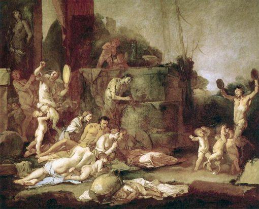 Bacchanal | Giulio Carpioni | Oil Painting
