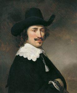 Portrait of a Man | Govaert Flinck | Oil Painting