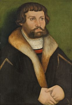 Portrait of a Bearded Man | Hans Cranach | Oil Painting