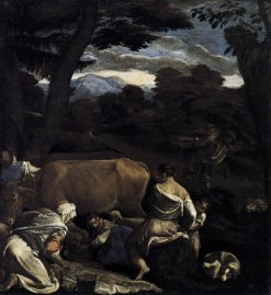 Pastoral Scene(also known as The Parable of the Sower) | Jacopo Bassano | Oil Painting