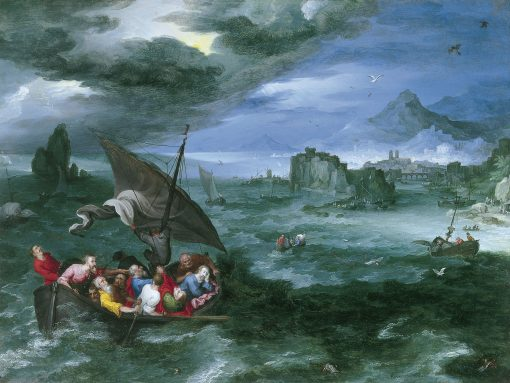 Christ in the Storm on the Sea of Galilee | Jan Brueghel the Elder | Oil Painting