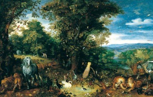 The Garden of Eden | Jan Brueghel the Elder | Oil Painting
