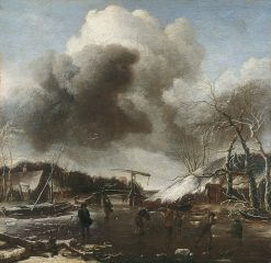 Winter Landscape | Jan van de Cappelle | Oil Painting