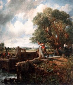 The Lock | John Constable | Oil Painting