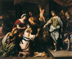 The Judgement of Solomon | Luca Giordano | Oil Painting
