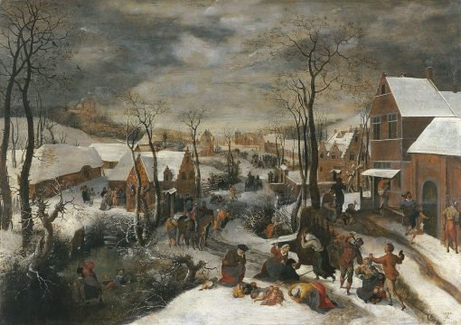 The Massacre of the Innocents | Lucas van Valckenborch | Oil Painting