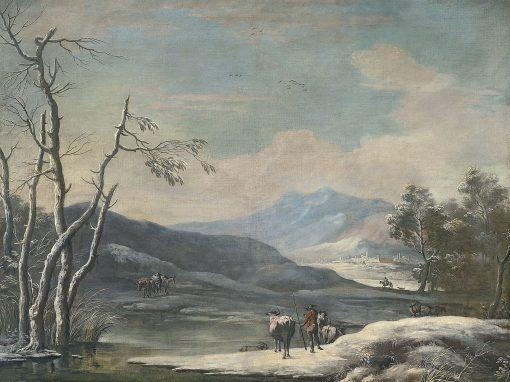 Winter Landscape | Marco Ricci | Oil Painting