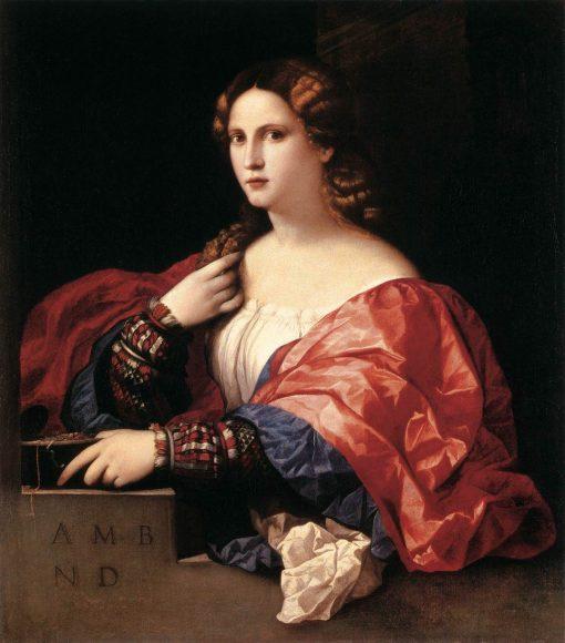 Portrait of a Woman (La Bella) | Palma il Vecchio | Oil Painting