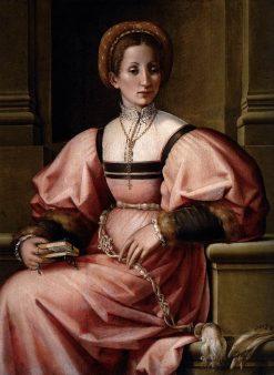 Portrait of a Lady | Pier Francesco Jacopo di Foschi | Oil Painting