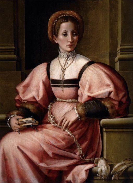Portrait of a Lady   Pier Francesco Jacopo di Foschi   Oil Painting
