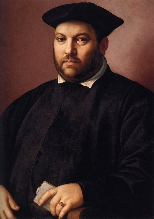 Portrait of a Gentleman | Ridolfo Ghirlandaio | Oil Painting