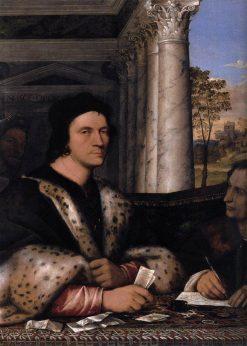 Ferry Carondelet and his Secretaries | Sebastiano del Piombo | Oil Painting