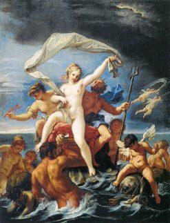 Neptune and Amphitrite | Sebastiano Ricci | Oil Painting