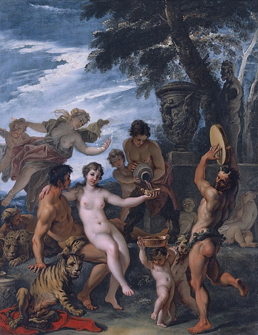 Bacchus and Ariadne | Sebastiano Ricci | Oil Painting