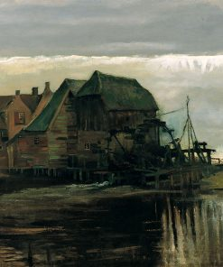 Water Mill at Gennep | Vincent van Gogh | Oil Painting