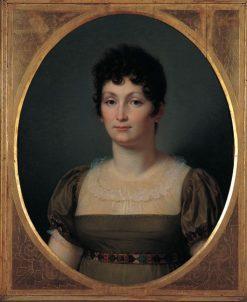 Alexandrine de Bleschamp | Francois Xavier Fabre | Oil Painting